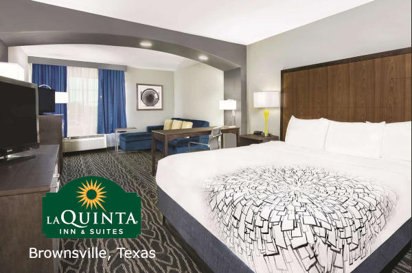 La Quinta Inn Brownsville, Texas; CQ Integrative Health Travel Accomodations