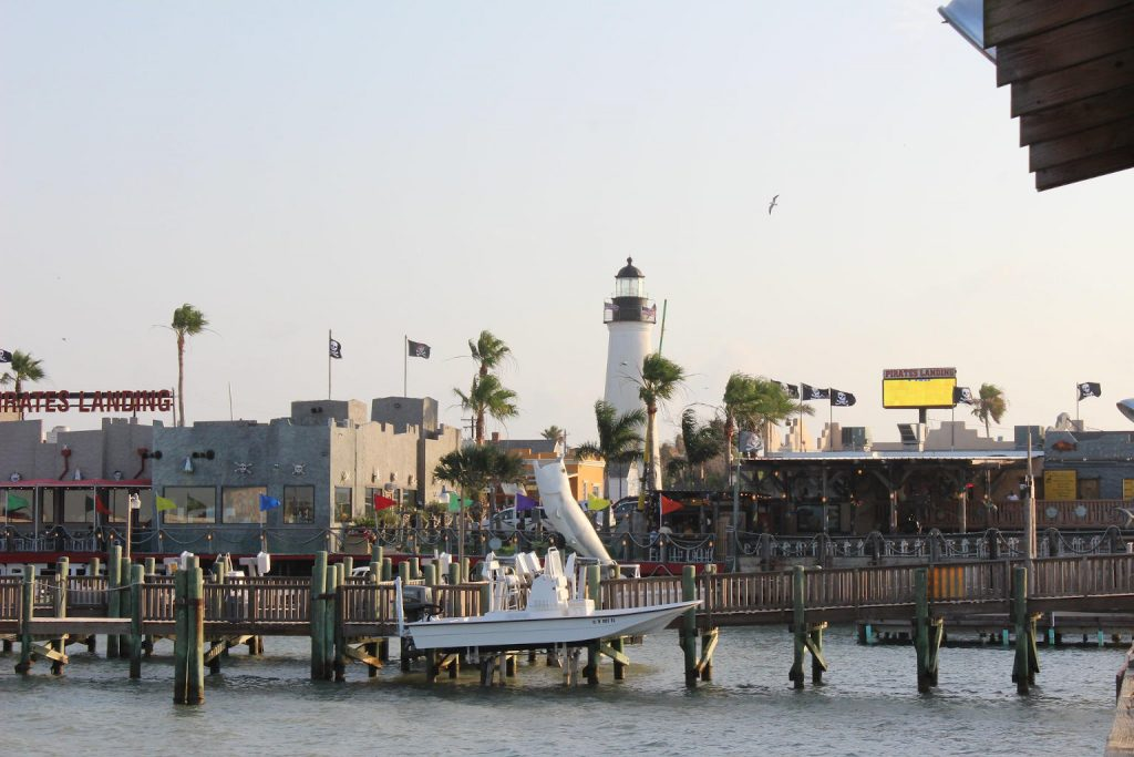 Pirate's Landing in Port Isabel, Texas; CQ Integrative Health Visiting Patients
